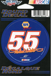 55 Michael Waltrip Decal / Sticker