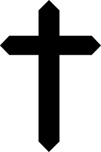 Christian Cross Decal / Sticker 20