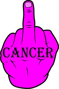 Fuck Cancer Decal / Sticker 03