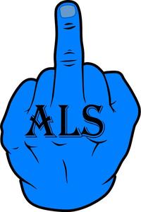 Fuck ALS Decal / Sticker 01