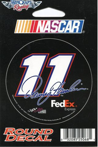 11 Denny Hamlin Decal / Sticker