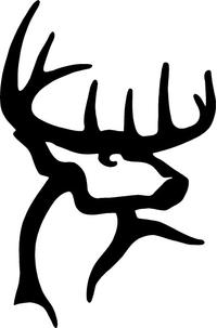 Buck Commander Hunting Decal / Sticker 02