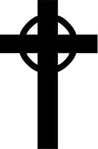 Christian Cross Decal / Sticker 14
