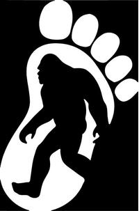 Bigfoot Decal / Sticker 01