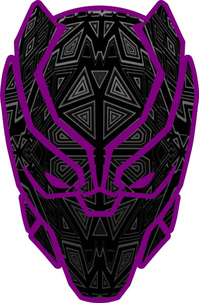 Black Panther Decal / Sticker 16