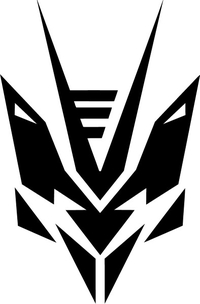 Decepticon Transtech Decal / Sticker 33