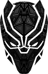 Black Panther Decal / Sticker 01