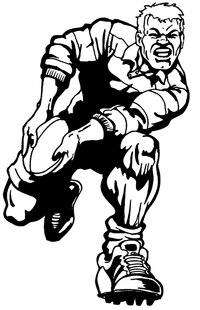 Rugby Decal / Sticker