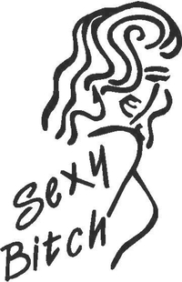 Sexy Bitch Decal / Sticker 02