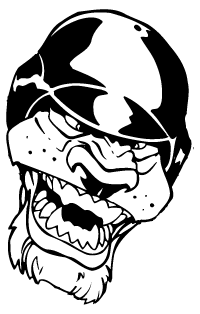 Baseball Jaguars Mascot Decal / Sticker