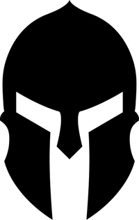 Spartan Helmet / Mask Decal / Sticker 14