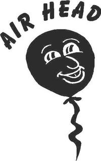 Airhead  Decal / Sticker