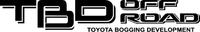 Toyota TBD (Toyota Bogging Development) Off-Road Decal / Sticker 01