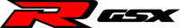 Black and Red GSXR Decal / Sticker 28
