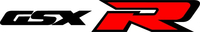 Black and Red GSXR Decal / Sticker 29