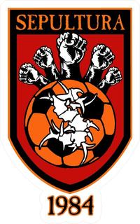 Sepultura Soccer Decal / Sticker 07