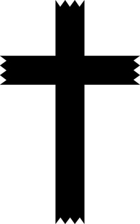 Christian Cross Decal / Sticker 60