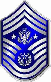 Air Force Master Seargent Decal / Sticker