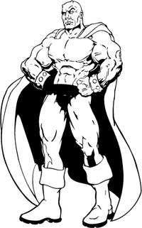 Super Devils Mascot Decal / Sticker
