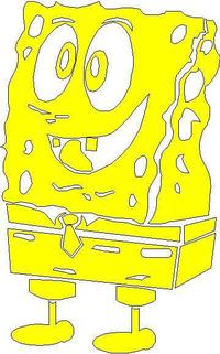 Spongebob Square Pants Decal / Sticker 01