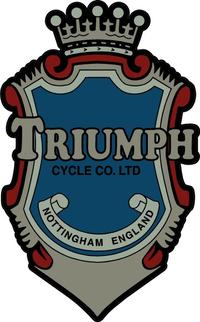 Triumph Crest Decal / Sticker