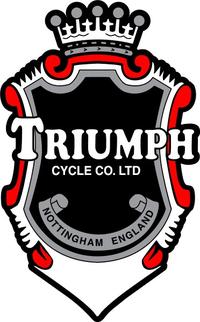 Triumph Crest Decal / Sticker 64