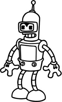 Bender Decal / Sticker 02