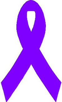 Cancer Ribbon Decal / Sticker