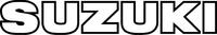 Suzuki lettering decal / Sticker 11