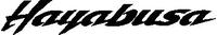 Suzuki Hayabusa Decal / Sticker 03