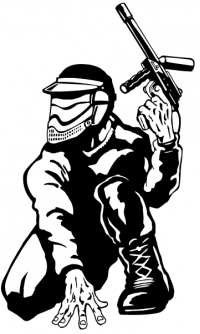 CUSTOM PAINTBALL STICKERS and PAINTBALL DECALS