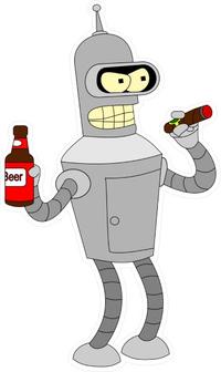 Bender Decal / Sticker 10