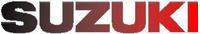 Black to Red Fade Suzuki Decal / Sticker