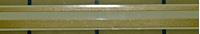 Metallic Gold Pin-Stripe