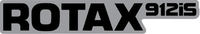 Black and Silver Rotax 912iS Decal / Sticker 08