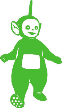 Dipsy Teletubbies Decal / Sticker