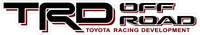 TRD Off Road Decal / Sticker 28