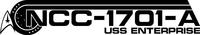 Star Trek NCC-1701-A Decal / Sticker 04