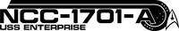 Star Trek NCC-1701-A Decal / Sticker 05