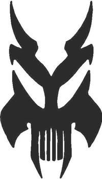Skull Devil Decal / Sticker 17