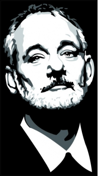 CUSTOM BILL MURRAY BFM DECALS / STICKERS
