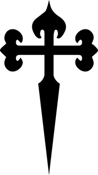 Christian Cross Decal / Sticker 81