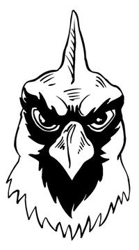 Cardinals Mascot Decal / Sticker 1