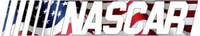 American Flag Nascar Decal / Sticker