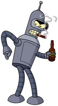 Bender Decal / Sticker 12