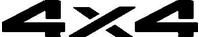 Z 4x4 Decal / Sticker Design 6