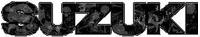 Bio-Skull Suzuki Decal / Sticker