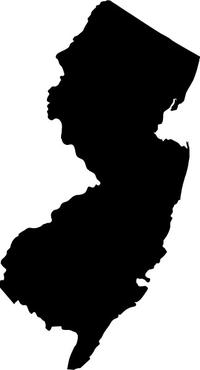 New Jersey Decal / Sticker 03