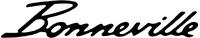 Triumph Bonneville Decal / Sticker 01