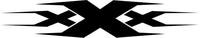 xXx Decal / Sticker 01